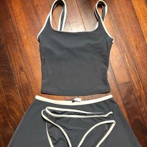 Calvin Klein 3pc swim suit